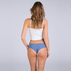 Lot de 2 hipsters bleu et rose Body Touch Coton, , DIM