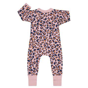 Pyjama bébé fille zippé Imprimé Rose moucheté DIM Baby, , DIM