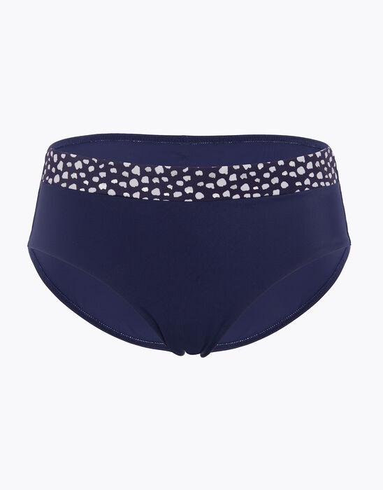 Bas de maillot de bain Bleu pour Femme Taille mi-haute, , DIM