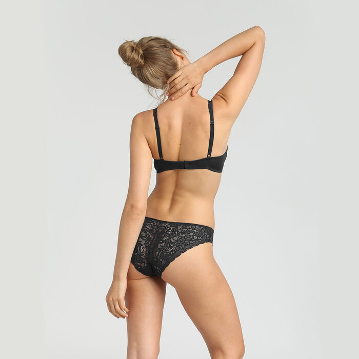 Soutien-gorge triangle ampliforme noir femme Sublim, , DIM
