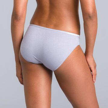 Culotte grise plume édition limitée les Pockets-DIM
