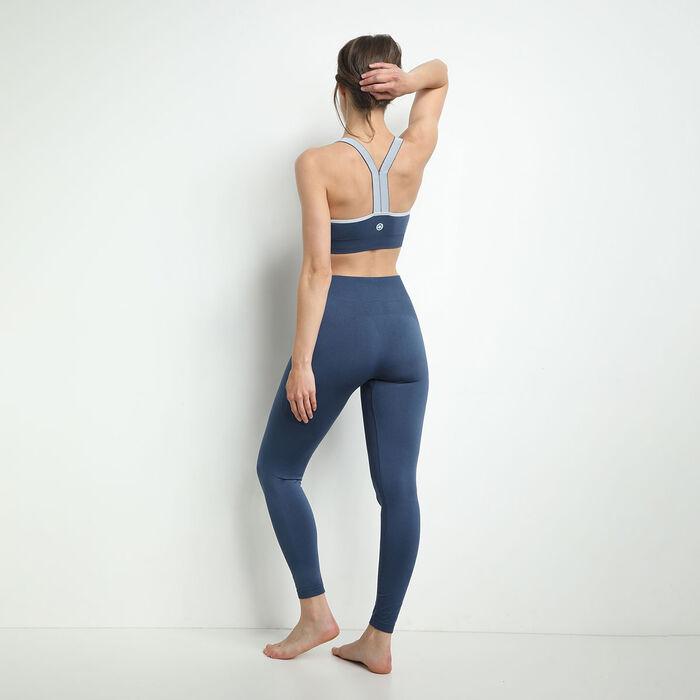 Legging 7/8 Bleu Lune pour femme - Dim Sport , , DIM