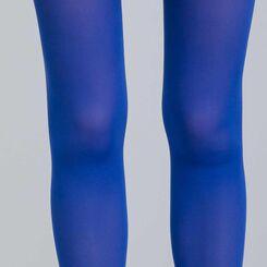 Collant opaque velouté bleu héron   50D Style-DIM