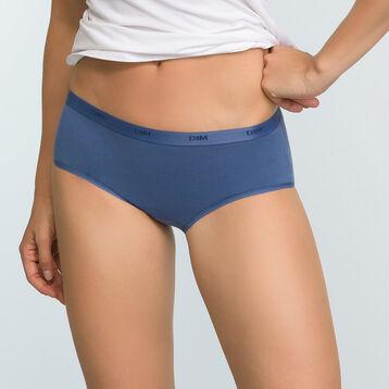 Lot de 5 shortys colorés coton stretch pour femme Les Pockets Ecodim, , DIM