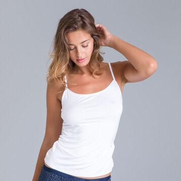 Caraco blanc Les Pockets en viscose-DIM