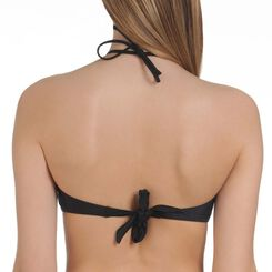 Haut de maillot de bain noir bandeau Femme-DIM