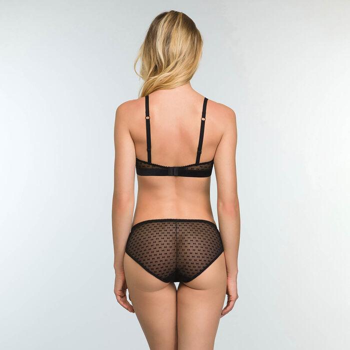 Culotte en tulle Imprimé Nœuds Velours pour femme Chic Line, , DIM