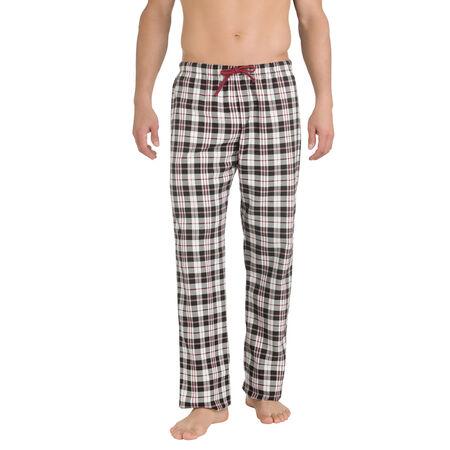 ca940beaf2bdc Pantalon de pyjama imprimé carreaux 100% coton Homme