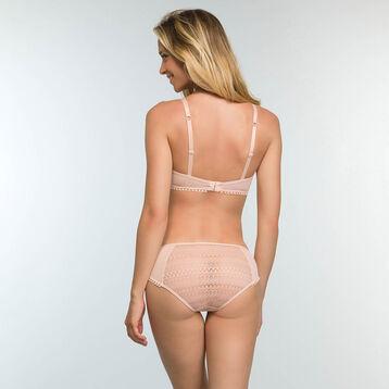 Soutien-gorge triangle Skin Rose en dentelle sans armatures Mod de Dim, , DIM