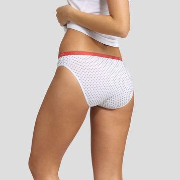 Lot de 3 culottes imprimé provence Les Pockets Coton Stretch Dim, , DIM