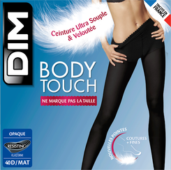Collant noir Body Touch Opaque 40D, , DIM