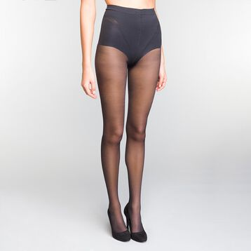 Lot de 2 collants noirs ventre plat 25D - Diam's , , DIM