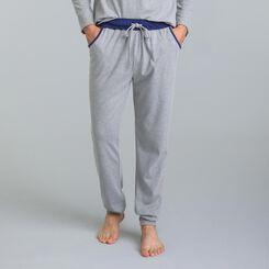 Pantalon de pyjama gris chiné Mix & Match-DIM