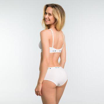 Soutien-Gorge Triangle Blanc sans armatures femme - DIM Originals, , DIM