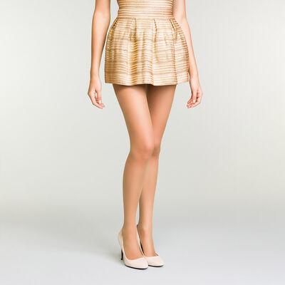 Collant voile ambre transparent pour femme Mes Essentiels 15D, , DIM