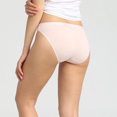 Lot de 5 culottes en coton stretch imprimé romance Les Pockets Coton, , DIM