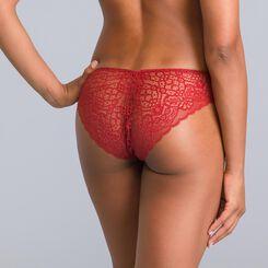 Culotte rouge cuivré Sublim Dentelle-DIM