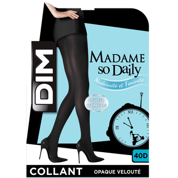 Collant vert empire opaque velouté Madame So Daily 40D-DIM