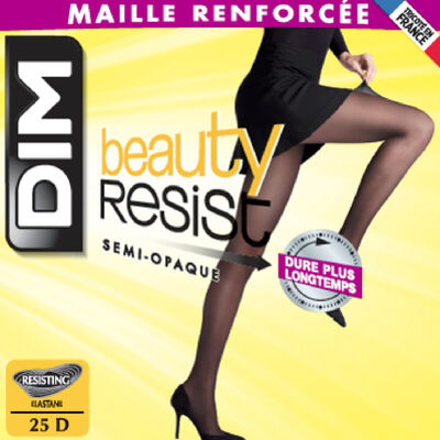 Collant semi-opaque noir Beauty Resit 25D, , DIM