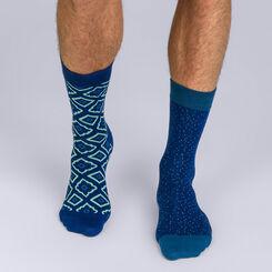 Lot de 2 paires de mi-chaussettes Coton Persian, , DIM