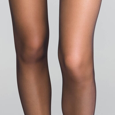 Lot de 3 collants voile brillant noirs transparents 15D - Sublim, , DIM