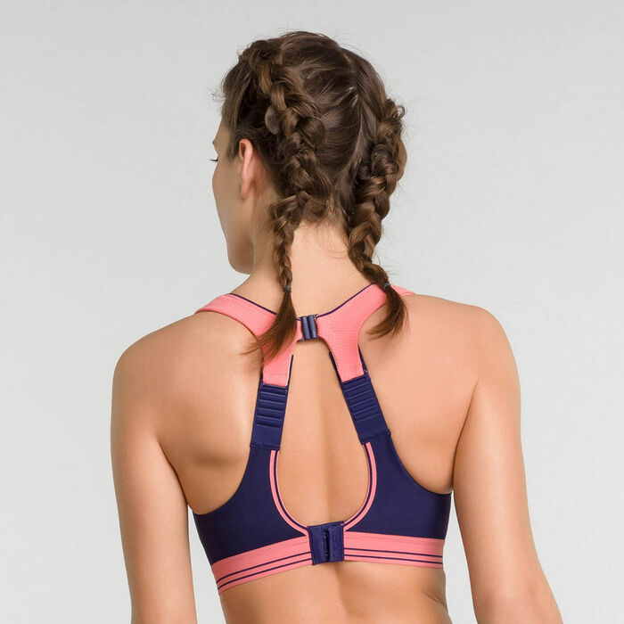Soutien-gorge sport Ultimate Run Bra rose - Shock Absorber, , DIM