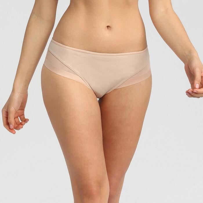 Culotte en microfibre et tulle new skin Generous de Dim, , DIM