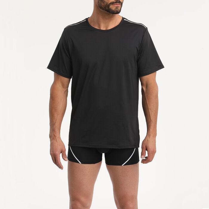 Tee-shirt noir pour homme Dim Sport , , DIM