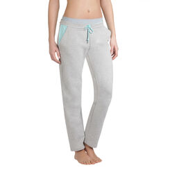 Pantalon de pyjama gris clair Femme-DIM