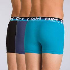 Lot de 3 boxers navy blue Trio DIM BOY-DIM