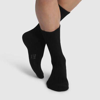 Lot de 2 Paires de chaussettes Noires pour homme spécial Outdoor, , DIM