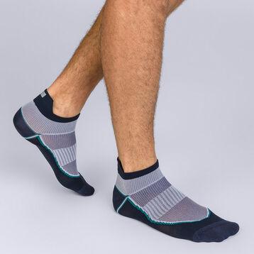 Socquettes courtes impact fort bleu Homme Dim Sport, , DIM