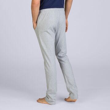 Pantalon gris chiné Street Art Homme-DIM