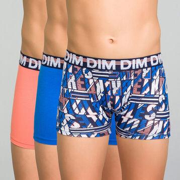 Lot de 3 boxers colorés - Trio DIM, , DIM
