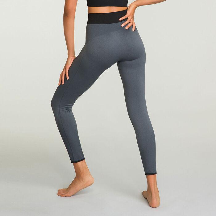 Legging Long de sport pour femme Gris Obscure Dim Sport, , DIM