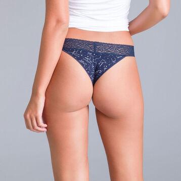Slip brésilien imprimé constellation Table Panties-DIM