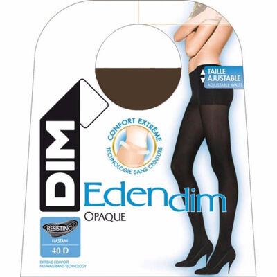 Collant Edendim noir Sans ceinture Opaque 40D, , DIM