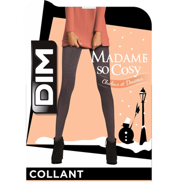 Collant chaud noir Thermo Polaire 143D-DIM