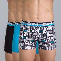 Lot de 3 boxers noirs DIM Boy-DIM