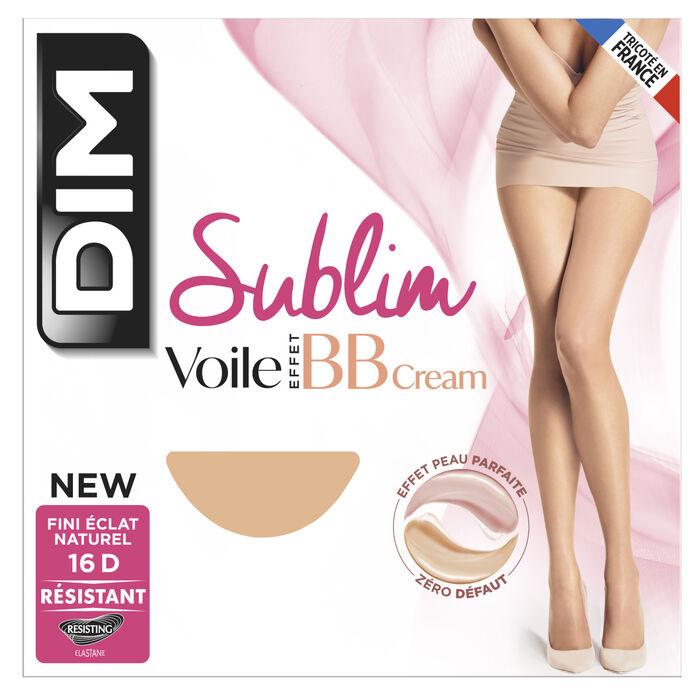 Collant voile beige éclat Sublim effet BB Cream 16D, , DIM