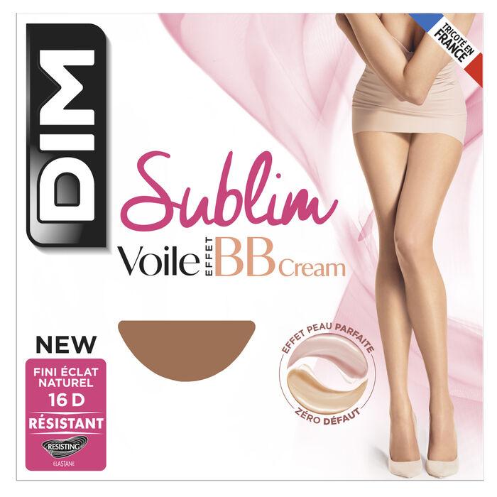 Collant voile beige rosé Sublim effet BB Cream 16D, , DIM