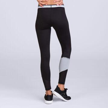 Legging long impact élevé noir DIM Sport-DIM