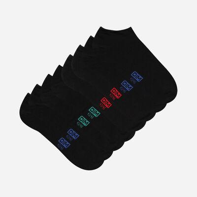Lot de 4 paires de socquettes courtes Classique Coton, , DIM