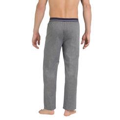Pantalon de pyjama gris anthracite 100% coton Homme-DIM