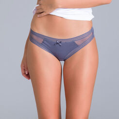 Lot de 2 Slips gris Sexy Transparency-DIM