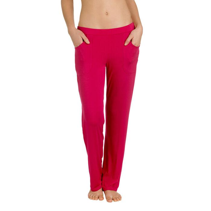 Pantalon de pyjama rouge gourmand Femme-DIM