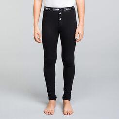 Caleçon long noir coton stretch DIM Boy-DIM
