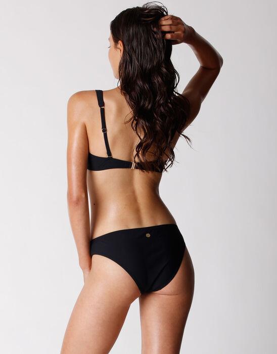 Haut de maillot de bain pour Femme avec armatures en microfibre recyclée, , DIM