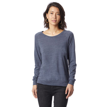 Sweatshirt bleu marine Eco-Jersey™ Femme-DIM