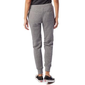 Pantalon de jogging gris chiné Eco-Fleece Femme-DIM